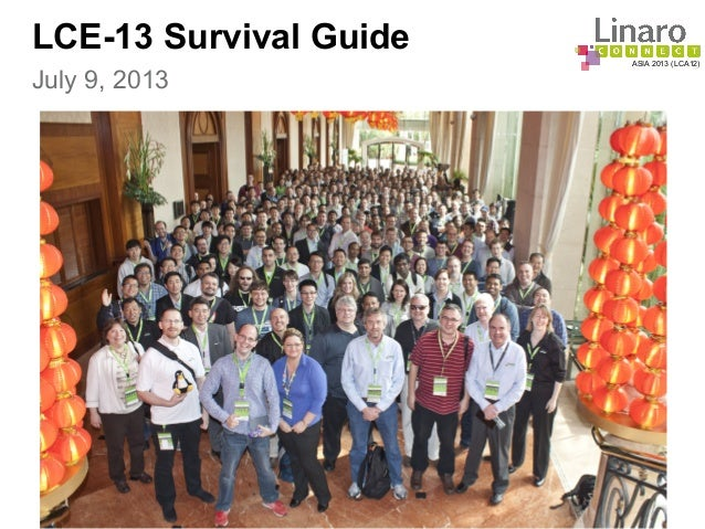 LCE13: LCE13 Survival Guide