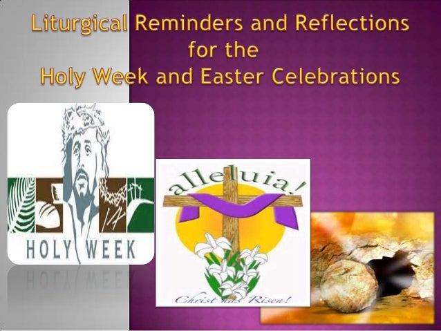 Holy Week and Easter Catechesis