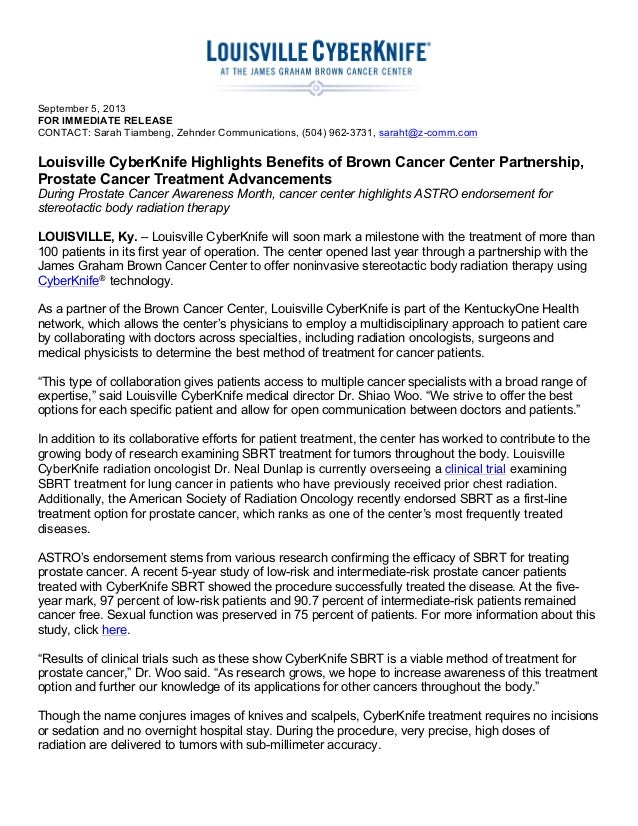 September 5, 2013 FOR IMMEDIATE RELEASE CONTACT: Sarah Tiambeng, Zehnder Communications, (504) 962-3731, saraht@z-c...