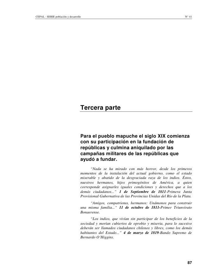 CEPAL - SERIE población y desarrollo                                                               N° 41                  ...