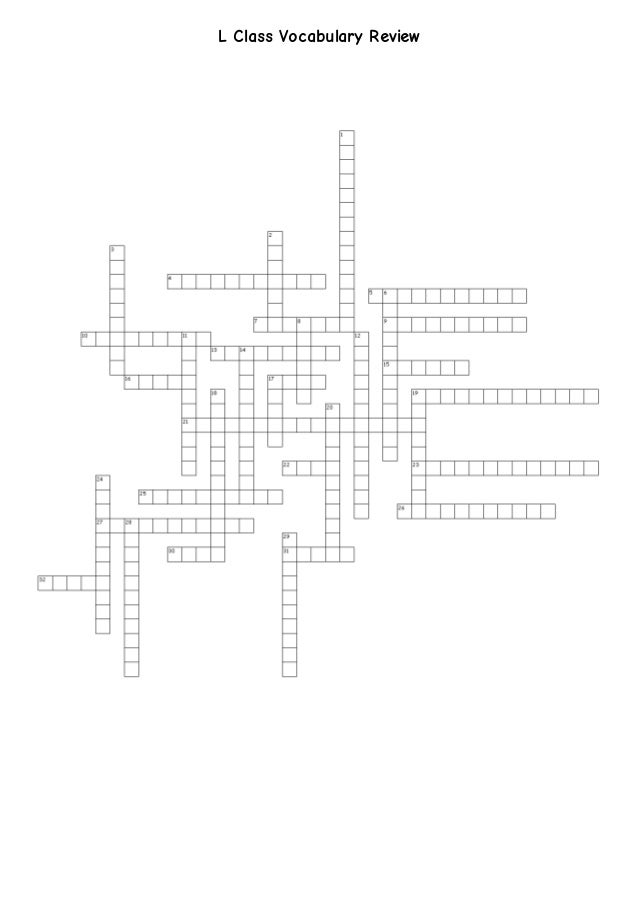 Crossword Review: Earthquakes, Volcanoes, and Plate Tectonics