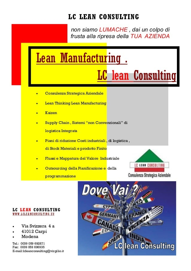 Lc lean Consulting 2013