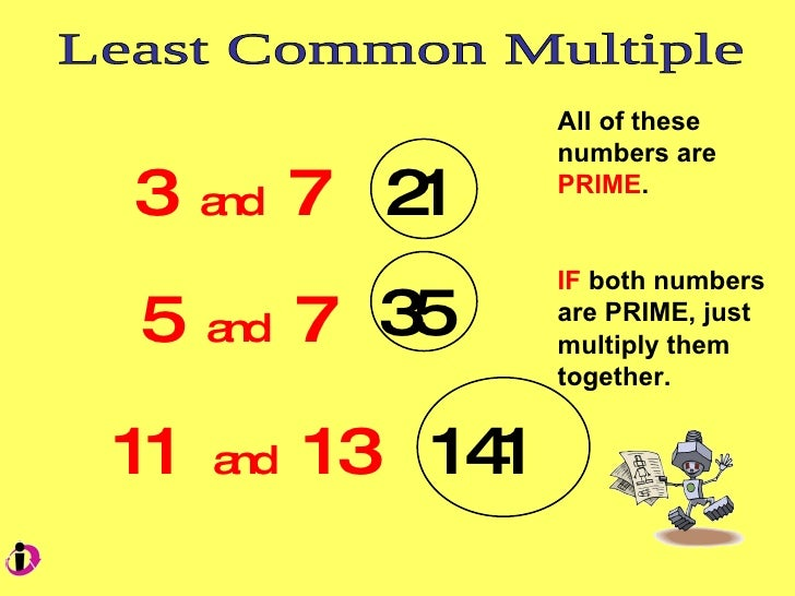 how to find the lowest common multiple on a calculator