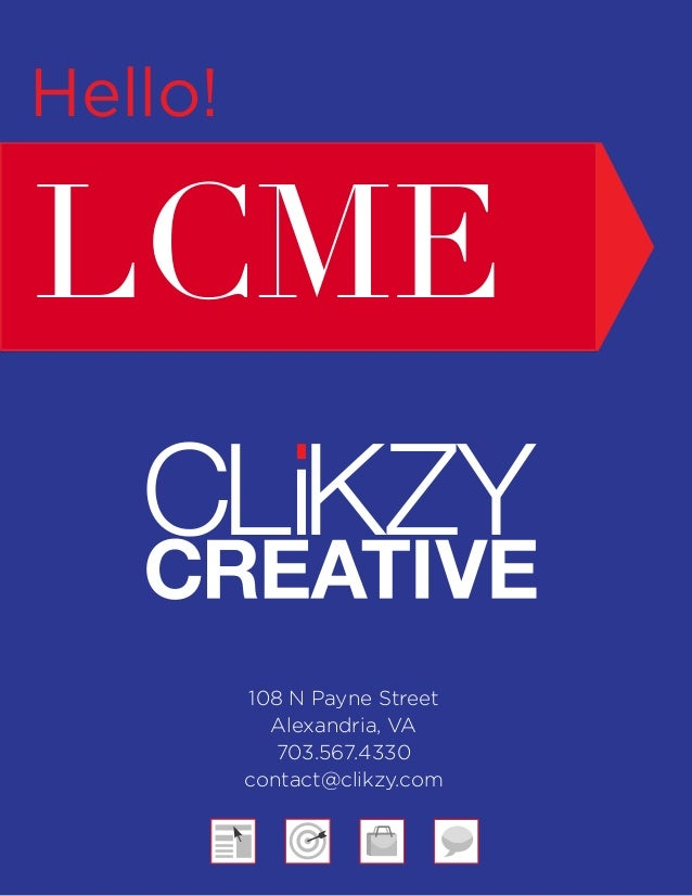 LCME Clikzy Creative Brief