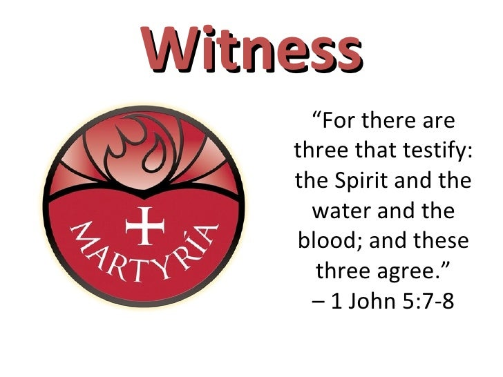 """Water, Blood, and Spirit Crying"" (Sermon on 1 John 5:1-8, by Pr. Charles Henrickson)"