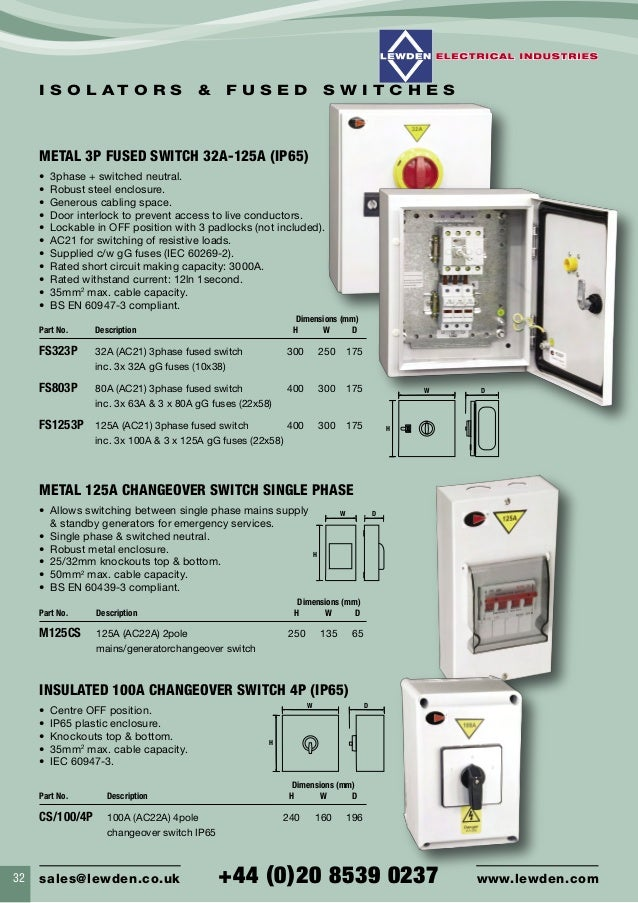Lewden Electrical Palazzoli Plugs Amp Sockets Control