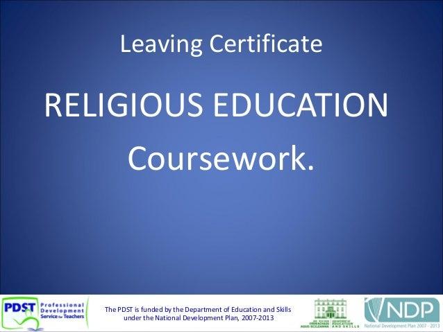 religious education s b a essay