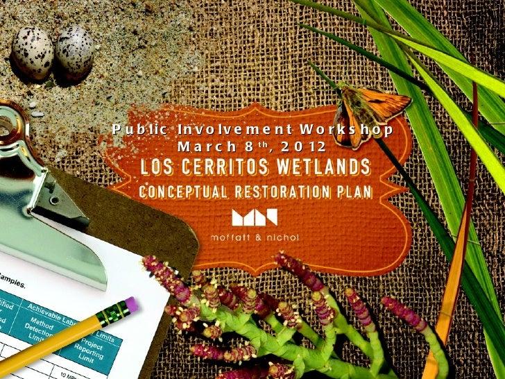 LCW Conceptual Restoration Workshop #2
