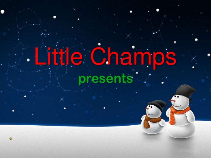 Little Champs Christmas Special