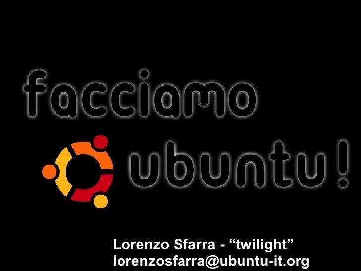 """Lorenzo Sfarra - """"twilight"""" [email_address]"""