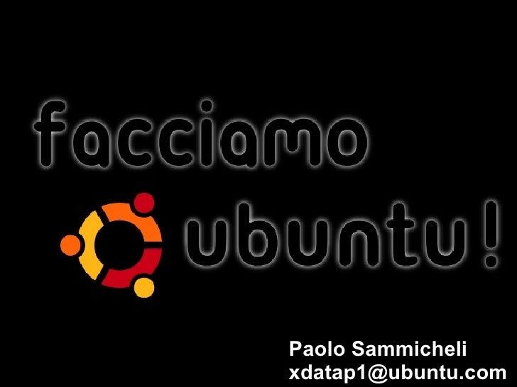 Paolo Sammicheli [email_address]