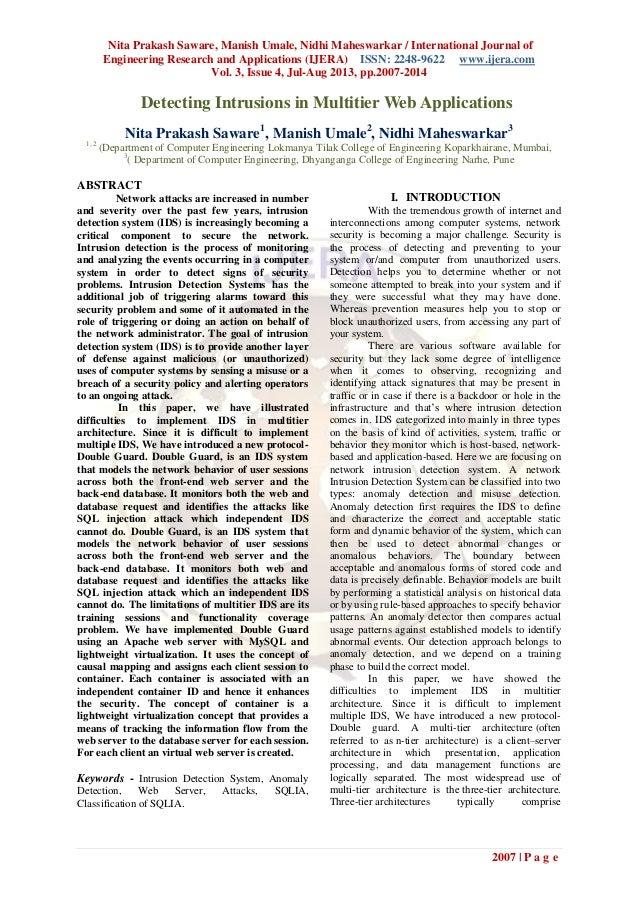 Nita Prakash Saware, Manish Umale, Nidhi Maheswarkar / International Journal of Engineering Research and Applications (IJE...