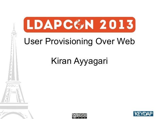 eSCIMo - User Provisioning over Web