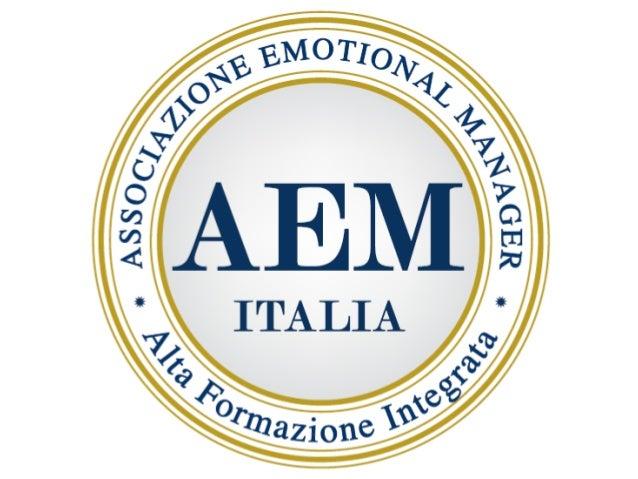 IL SELF – MANAGEMENT UNA VIA PER AUTOREALIZZARSI www.aemitalia.it
