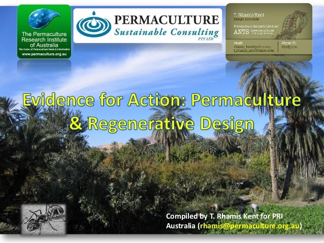 Compiled by T. Rhamis Kent for PRI Australia (rhamis@permaculture.org.au)