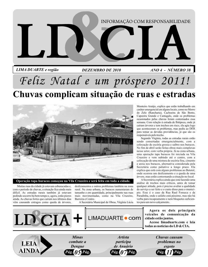 Edição nº 38 do Jornal LD & Cia