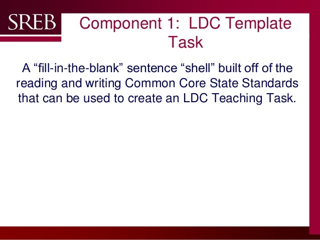 company logo component 1 ldc template task a fill in
