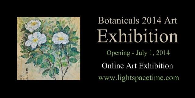 Botanicals 2014 Online Art Exhibition - Event Postcard