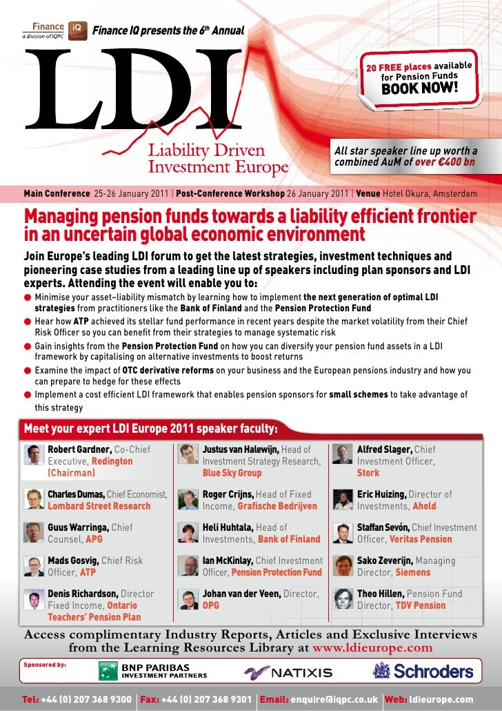Liability Driven Investment Europe 2011