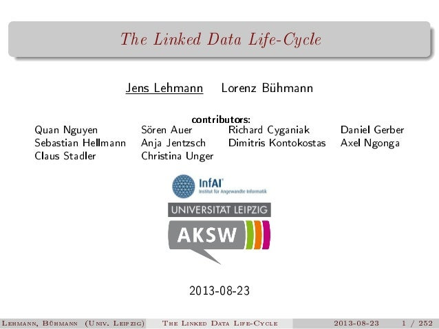 The Linked Data Lifecycle