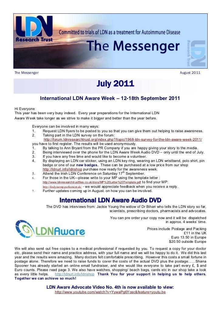 The Messenger                                                                                       August 2011           ...