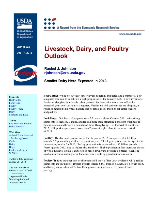 LDP-M-222       Dec 17, 2012                          Livestock, Dairy, and Poultry                          Outlook      ...