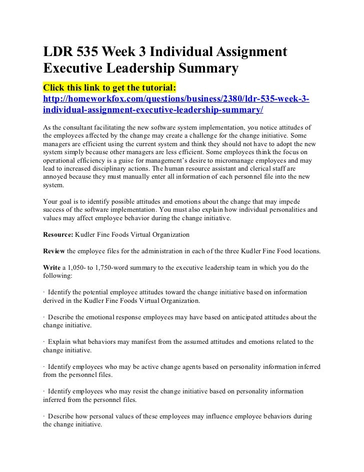 Leadership Sample Essay