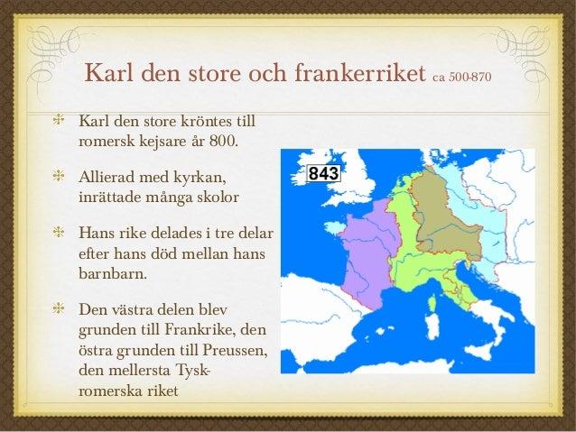 Karl Den Stores Rike Karl Den Store Och