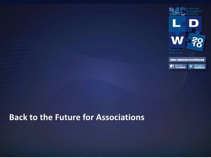 Back to the Future for Associations<br />