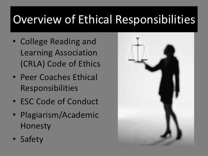 ethics in a peer to peer