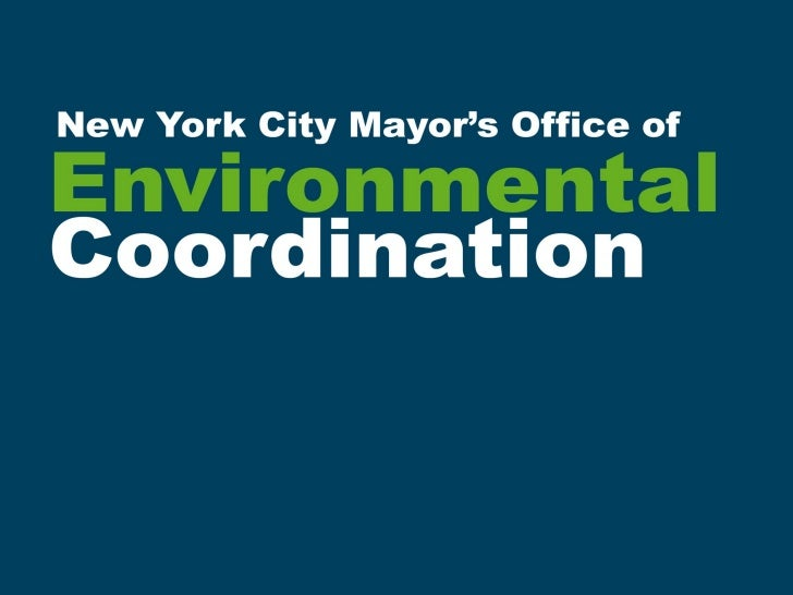 Office of Environmental Coordination
