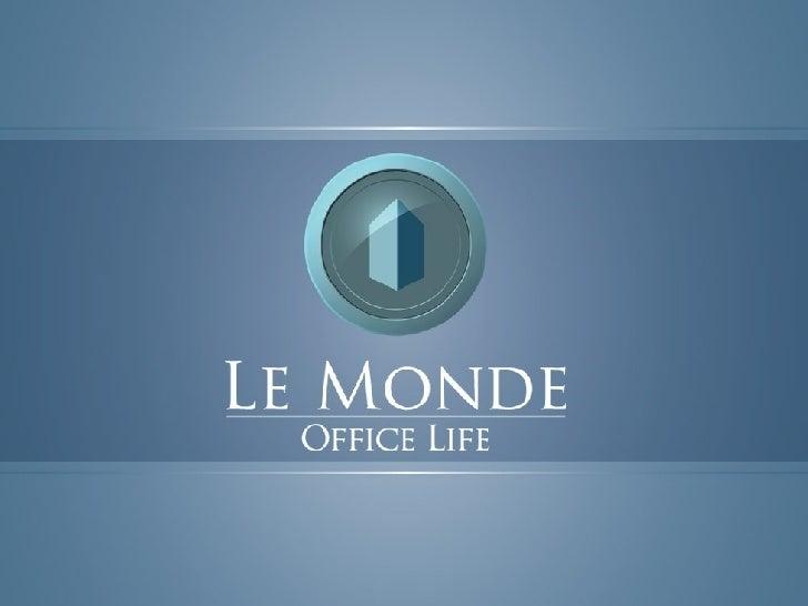 Le Monde Office Life nova iguaçu