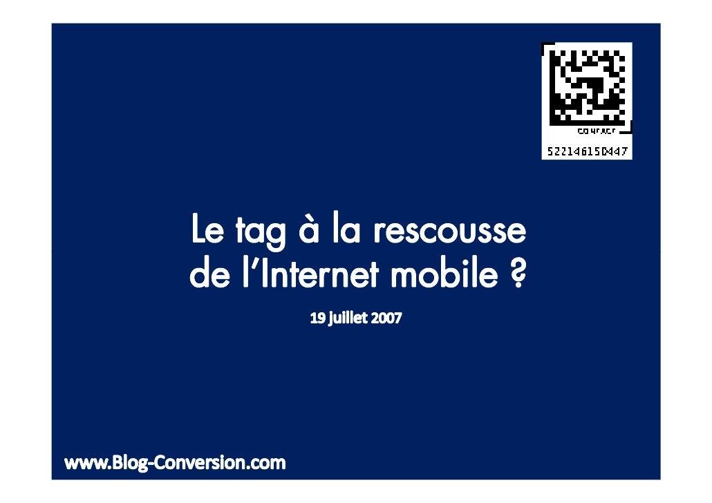 7,8 millions dÊutilisateurs (consultation dÊun service mobile sur le dernier mois)    20% des possesseurs de mobiles   Pri...