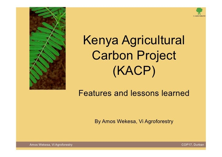 Learning Event No 8, Session 2 from Agriculture and Rural Development Day (ARDD) 2011