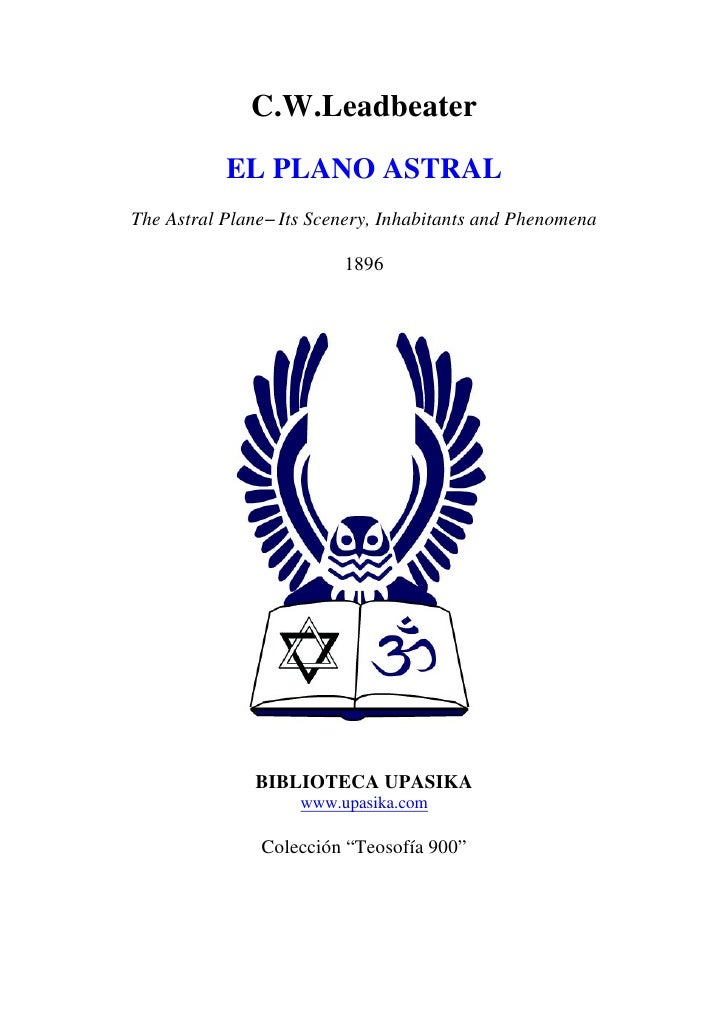 Leadbeater charles   el plano astral