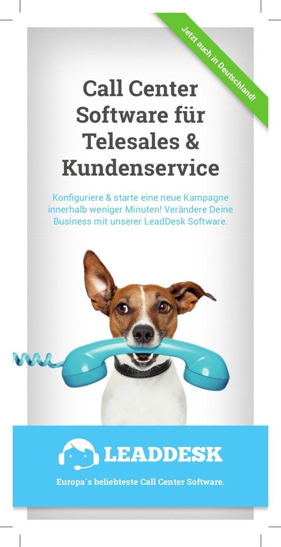 Call Center Software für Telesales & Kundenservice Konfiguriere & starte eine neue Kampagne innerhalb weniger Minuten! Ver...