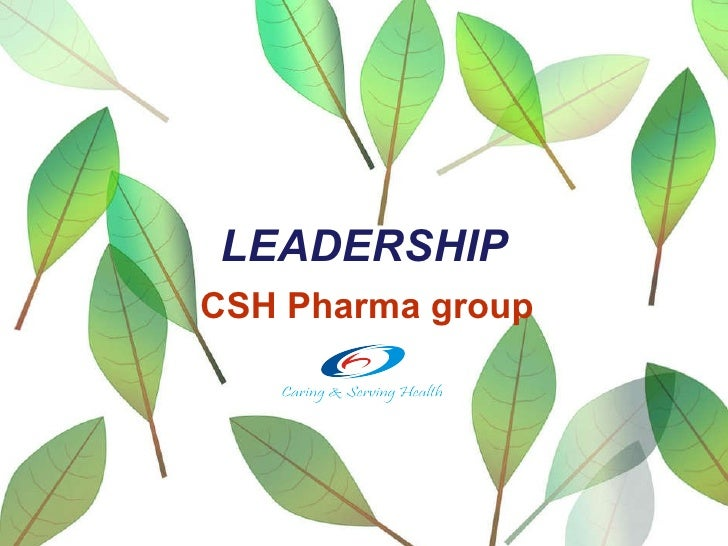 LEADERSHIP CSH Pharma group