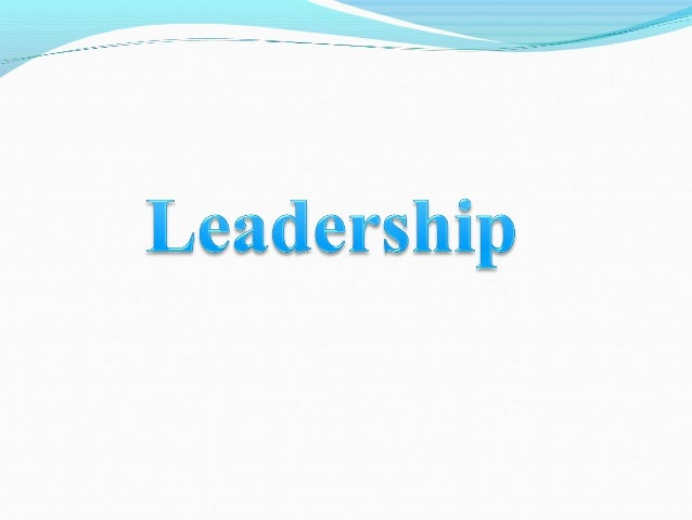 Theories that consider personality, social, physical, or intellectual traits to differentiate leaders from nonleaders. Lea...