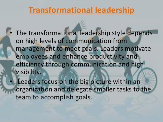 transformational leadership and economic efficiency Charismatic and transformational leadership: transformational leadership assumes the establishment of strong guiding coalition, because of the complex effective restructuring of the effect of economic recovery and boom.