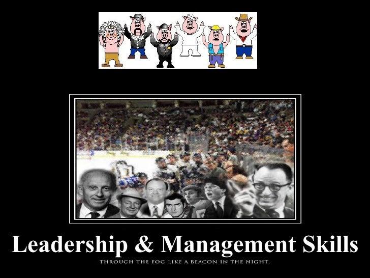 Leadership & Management Skills