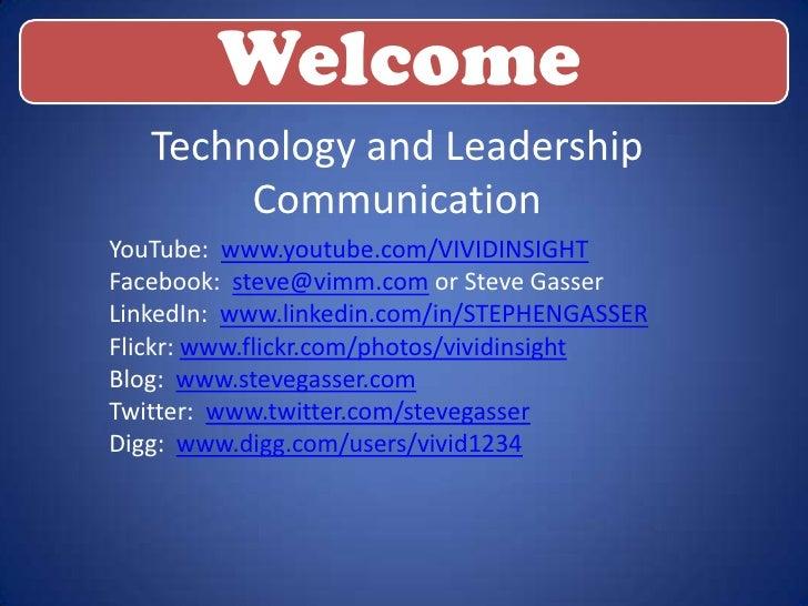LinkedIn Leaderhsip Presentation