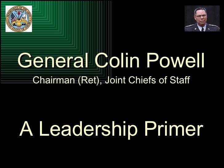 Leadership   Powell Presentation