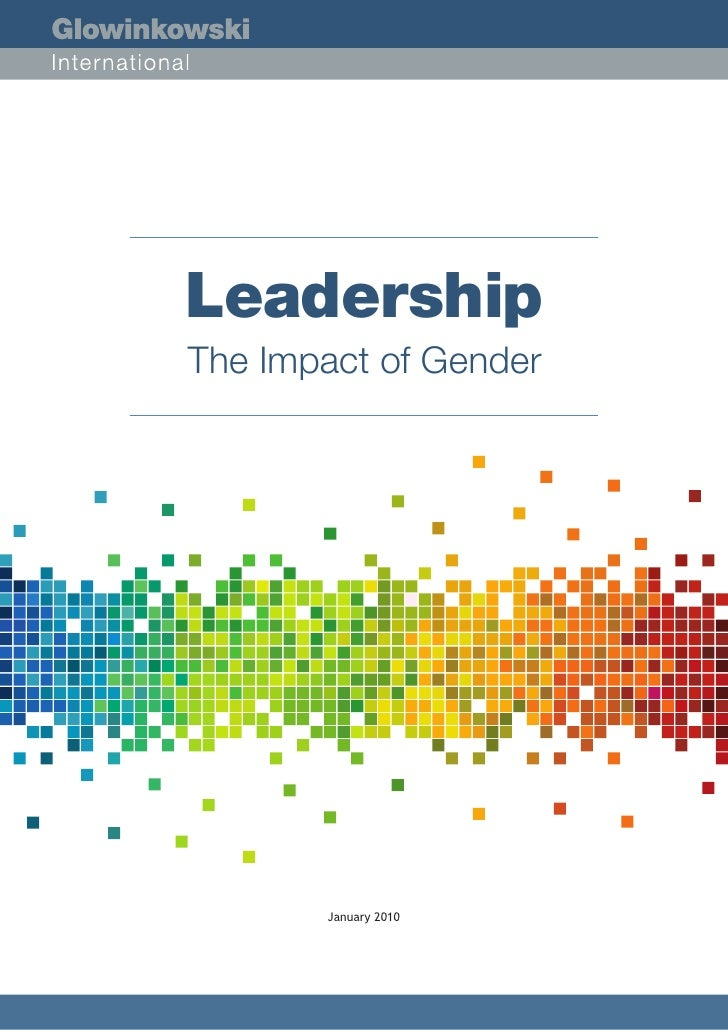 Leadership   The Impact Of Gender (Education Appx)