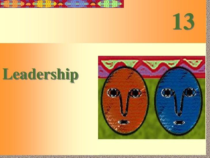 13<br />Leadership<br />