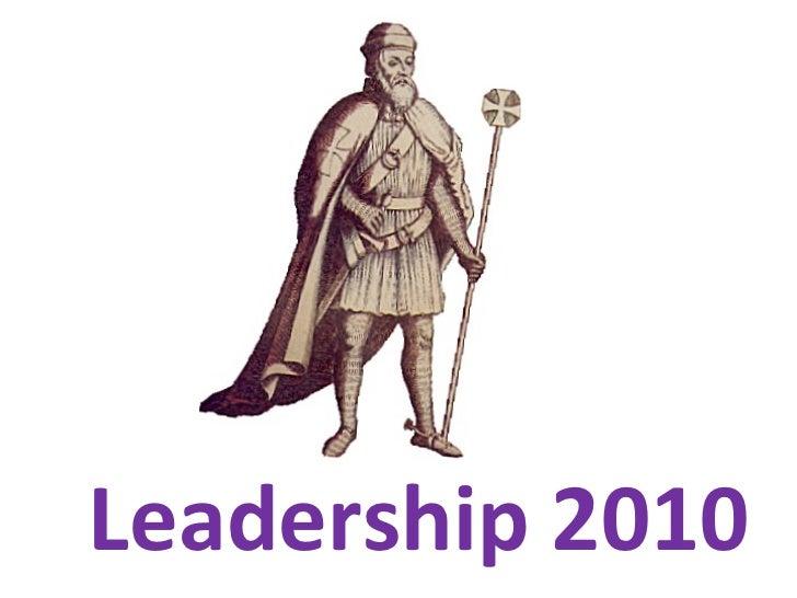 Leadership2010