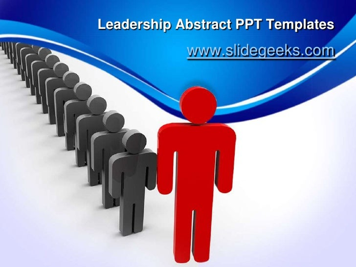 leadership abstract ppt templates
