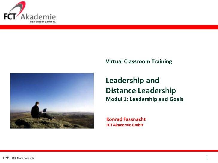 Virtual Classroom Training                            Leadership and                            Distance Leadership       ...
