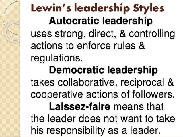 empowering leadership style Most leaders would like to have empowered employees, but lack the leadership skills to really empower them leaders often adopt one specific leadership style that matches their own personality the best and generally use this leadership style, irrespective of the employee's empowerment needs.