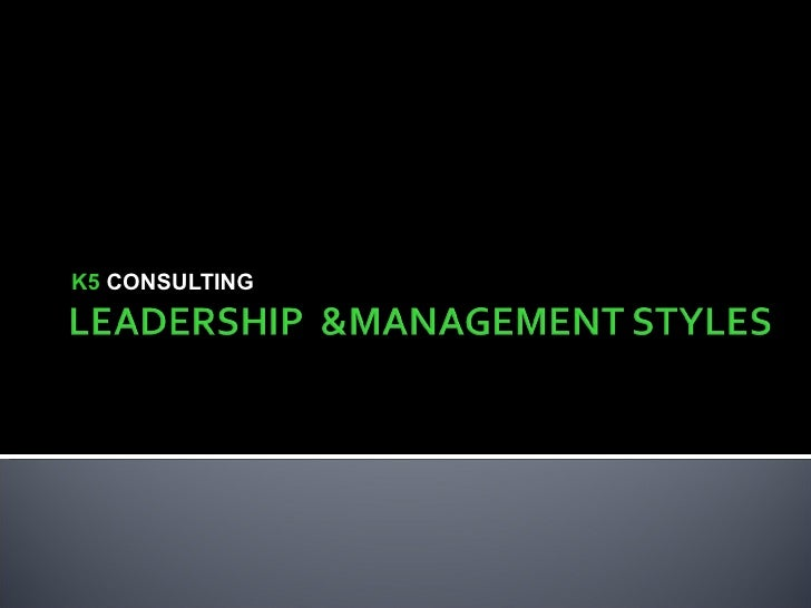 K5  CONSULTING
