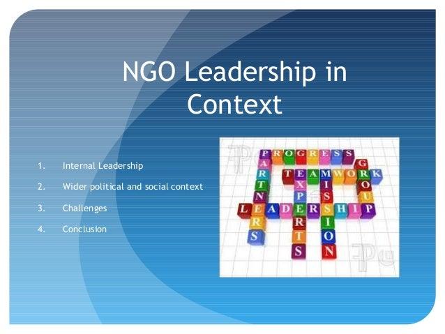 NGO Management and Leadership